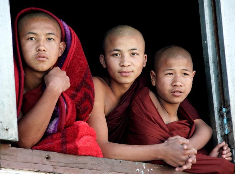 monjes birmania