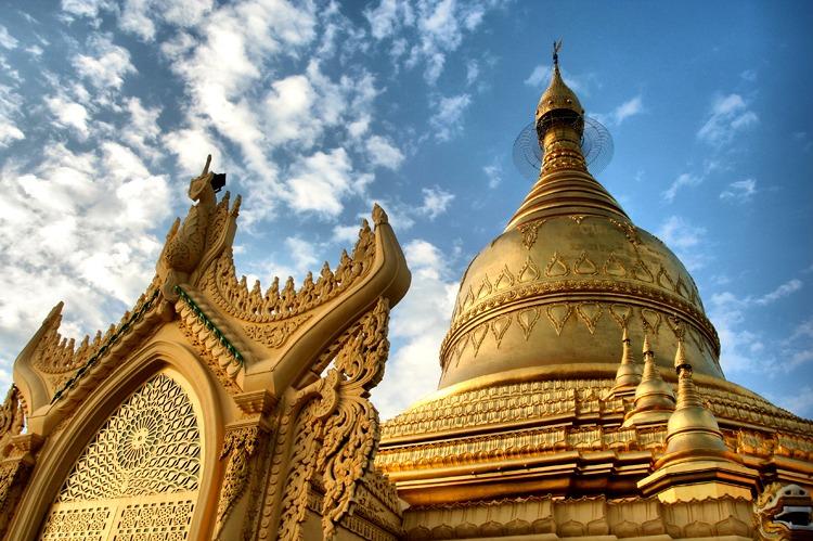 pagoda de yangon