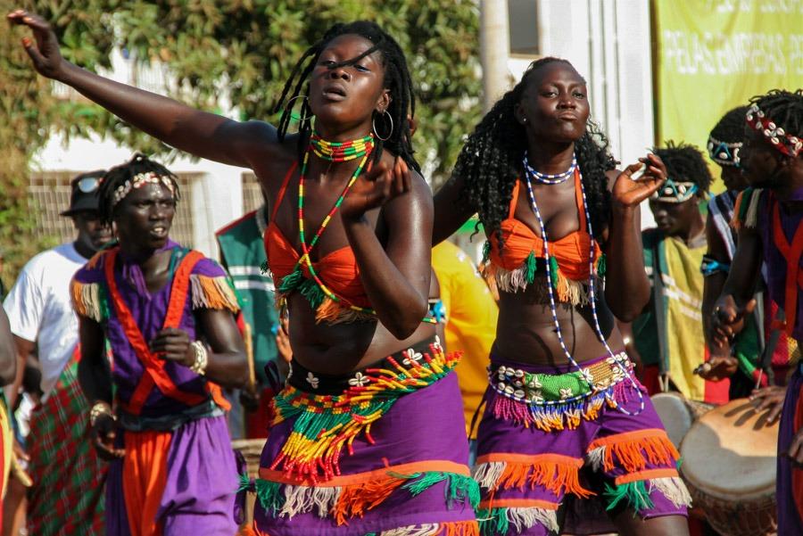 baile africano