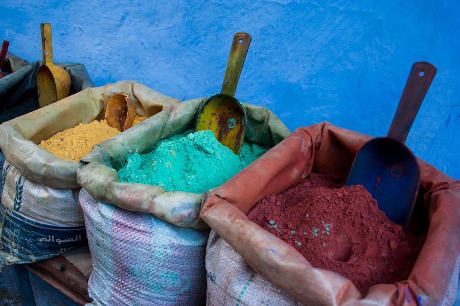 colores marruecos