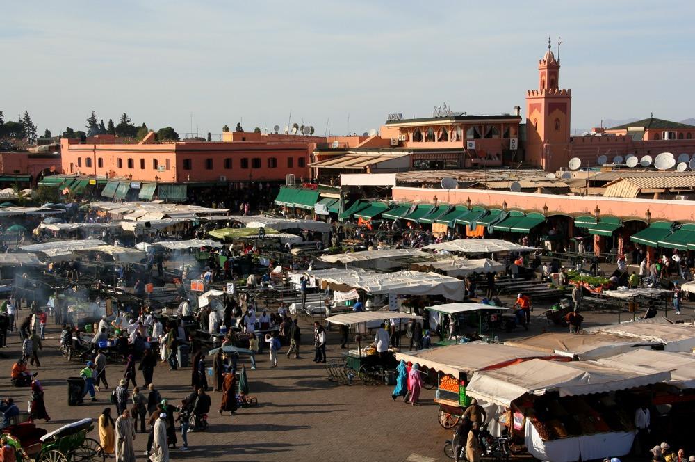 Djemaa el fna square marrakesh