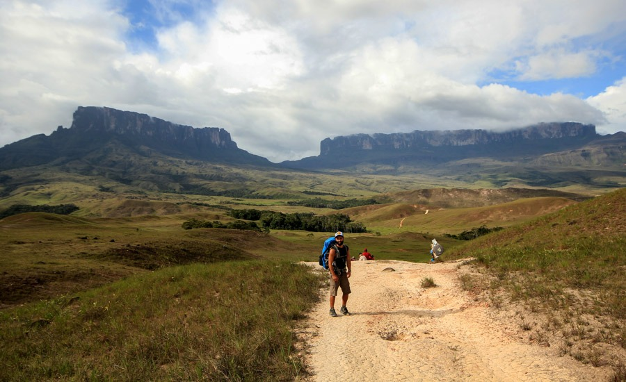 Path mount roraima 1st day