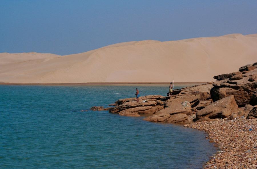 costa sahara cruzar África Occidental