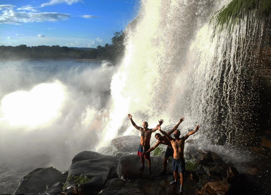 sapo waterfalls visit angel falls