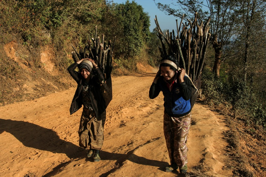 hike from namhsan to hsipaw