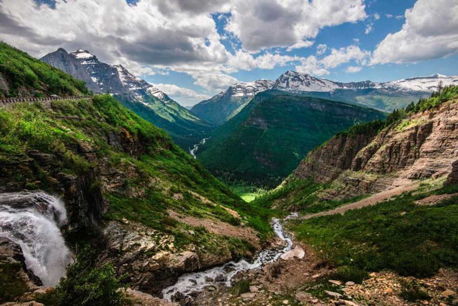 logans pass parque nacional glaciares