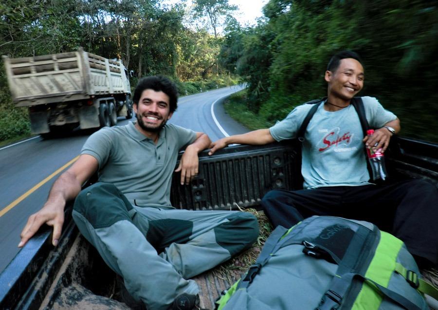 Hitchhiking Thailand
