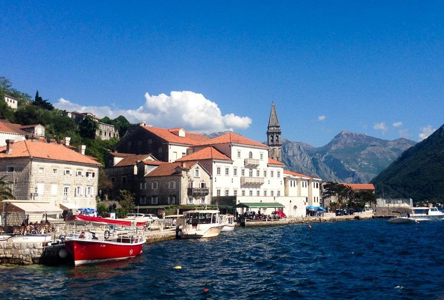 perast rutas por los balcanes