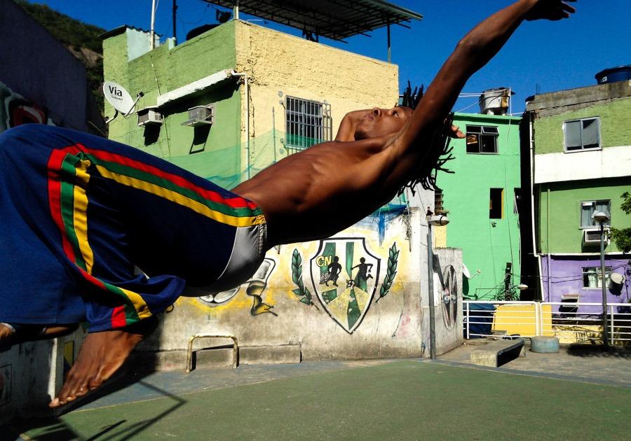 capoeira favela