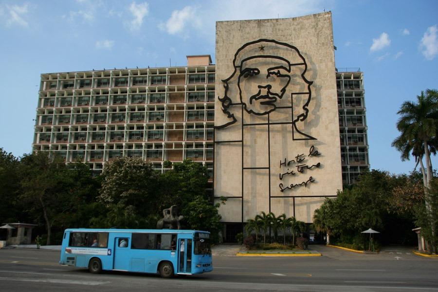 Mochilero por Cuba