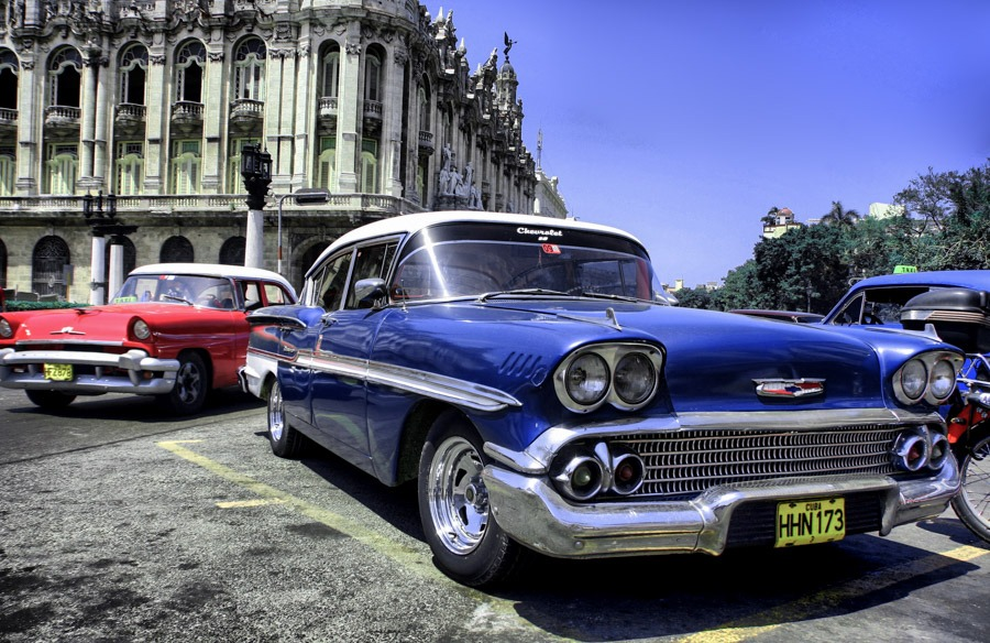 havana cars backpacking