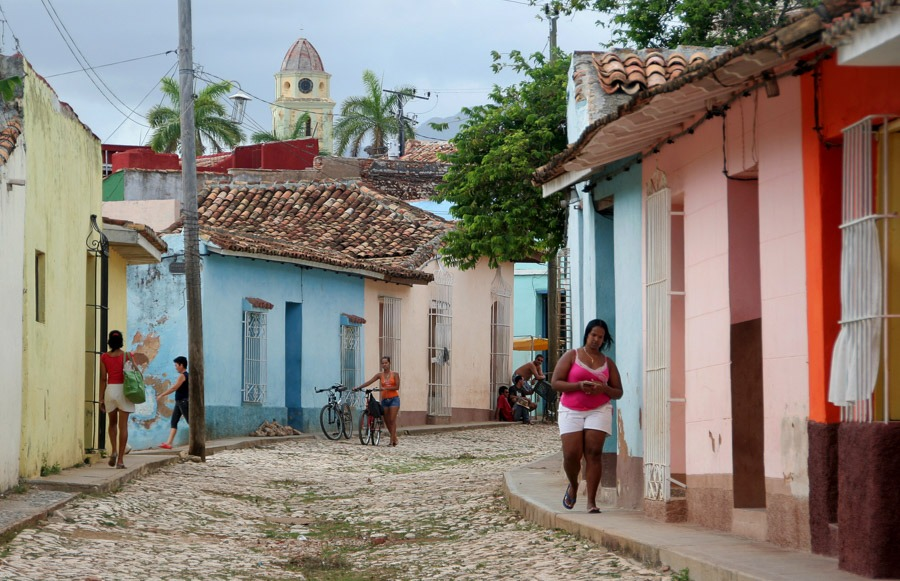 trinidad backpacking cuba