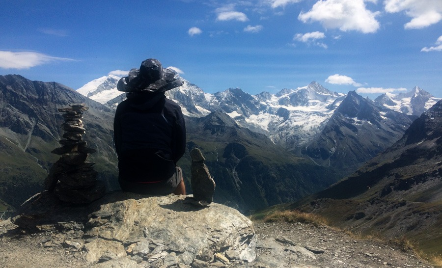 sorbois to zinal haute route trek