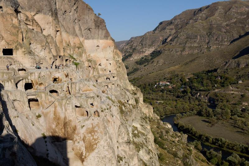 vardzia caves georgia