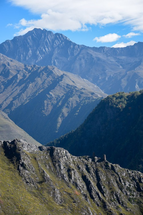 travel and hiking in tusheti
