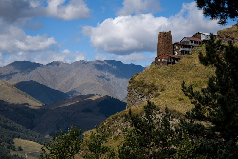 towers tusheti