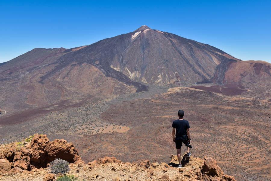 Alto Guajara hiking Tenerife