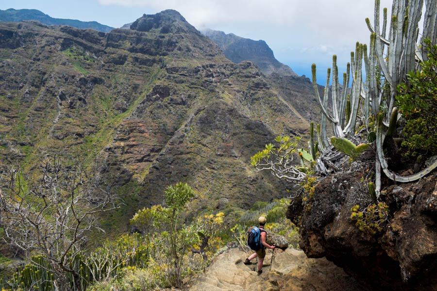 Masca Tenerife trekking