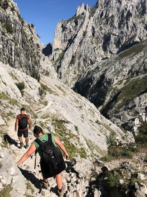 ruta del cares best hikes in Picos de Europa